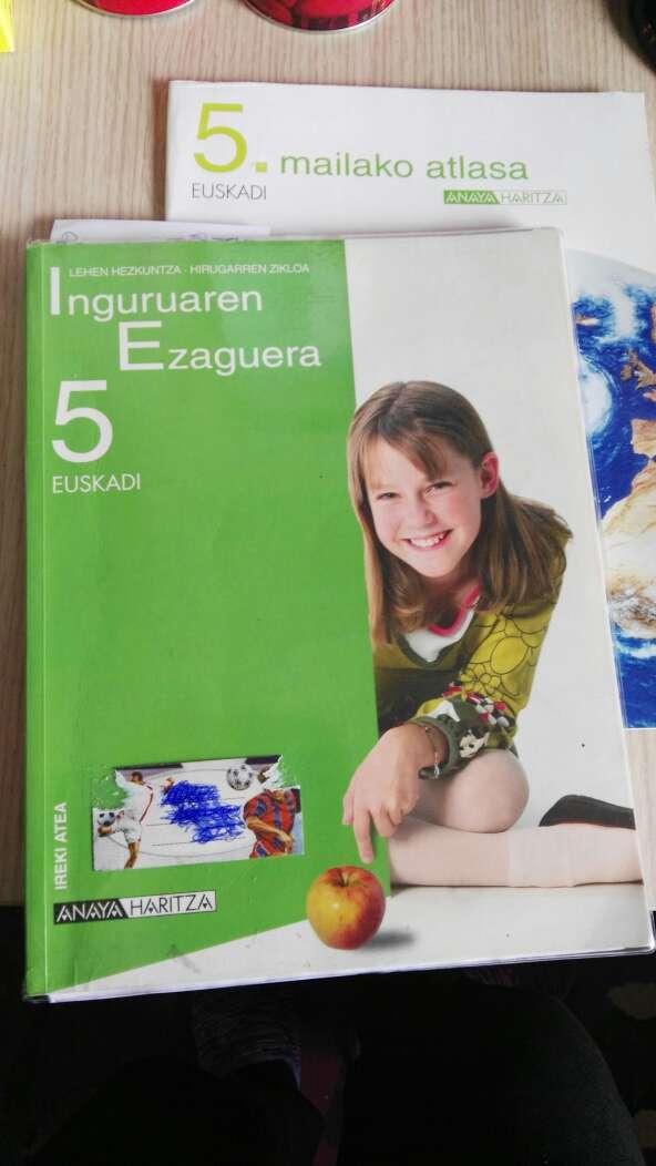 Imagen producto Libros de primaria y 1de la eso 3