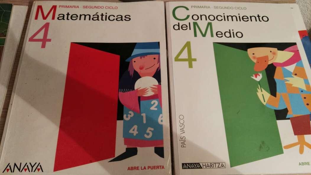 Imagen producto Libros de primaria y 1de la eso 8