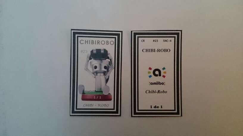 Imagen amiibo chibirobo