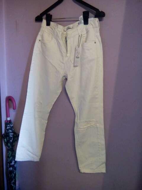 Imagen pantalon beis Talla 36