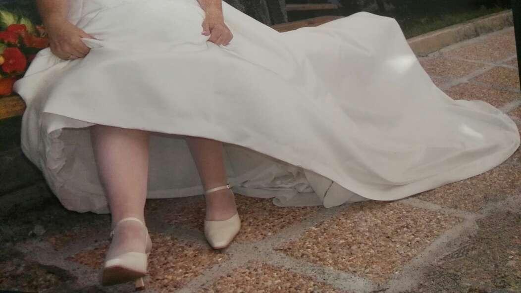 Imagen producto Vestido novia 40,42 regalo zapatos n.40 5