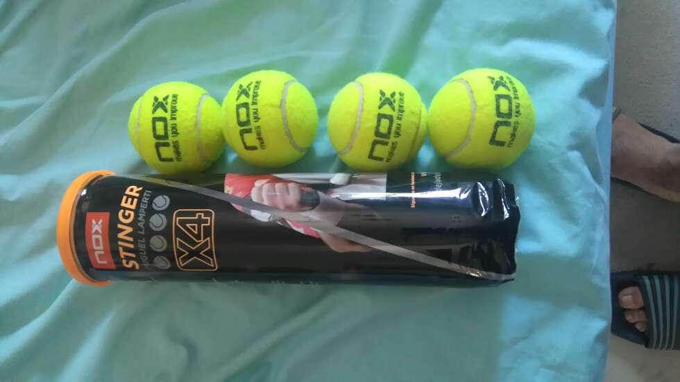 Imagen 4 pelotas de tenis marca Stinger