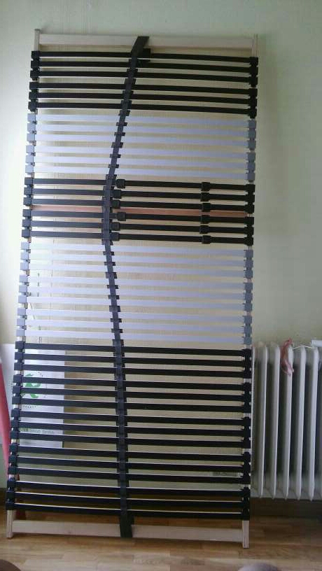 Imagen Somier laminas IKEA. Ya montado