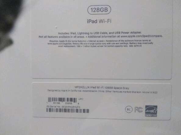 Imagen tablet apple
