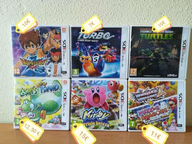 Imagen Vendo videojuegos de Nintendo