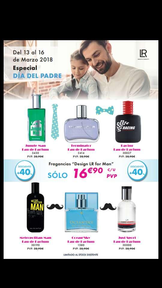 Imagen producto Oferta en perfumes hombre 1