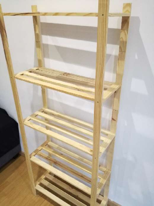 Imagen producto Estantería de madera 2