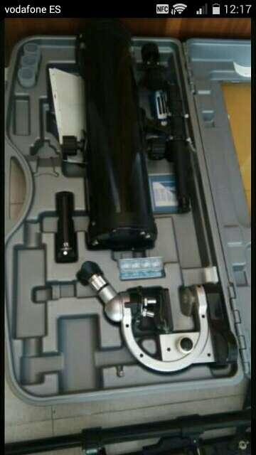 Imagen Microscopio y telescopio