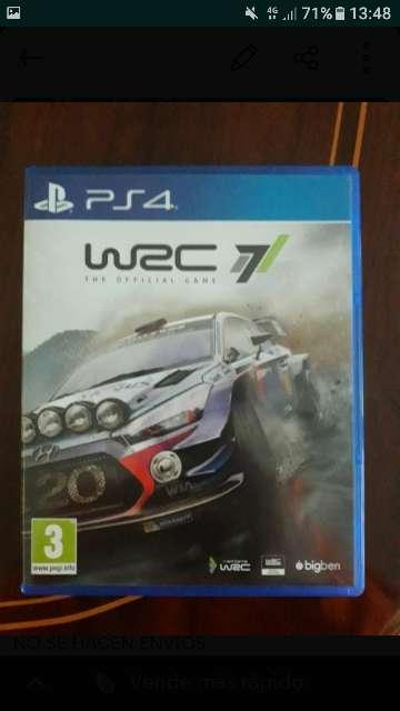 Imagen Wrc7 juego ps4