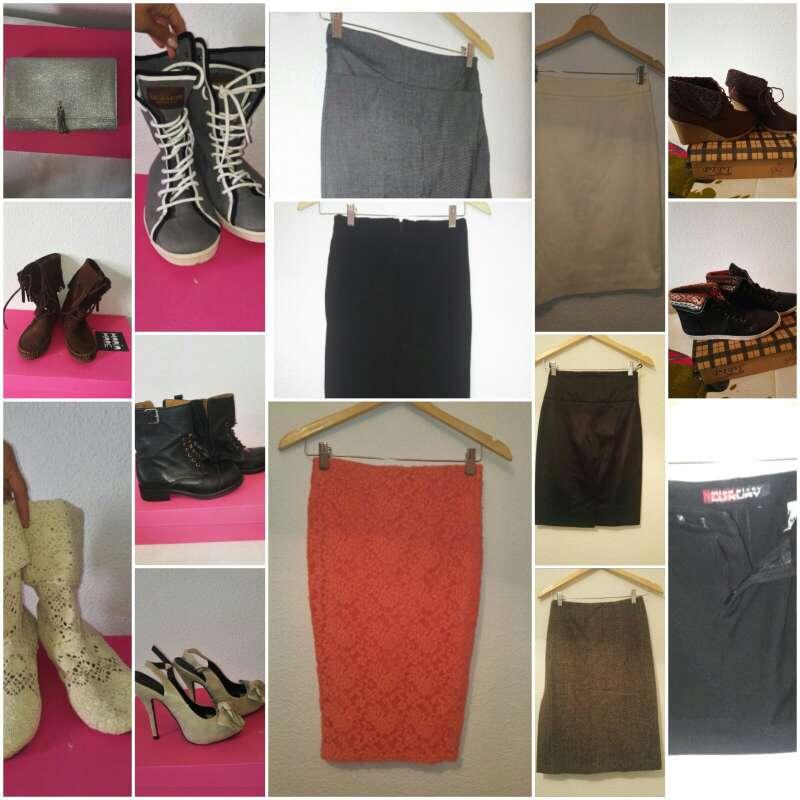 Imagen lote de ropa y calzado de mujer