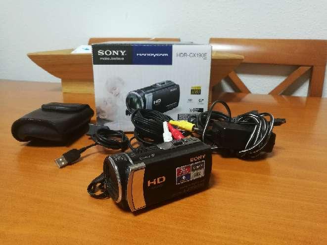 Imagen videocámara Sony Handycam HRD CX190E