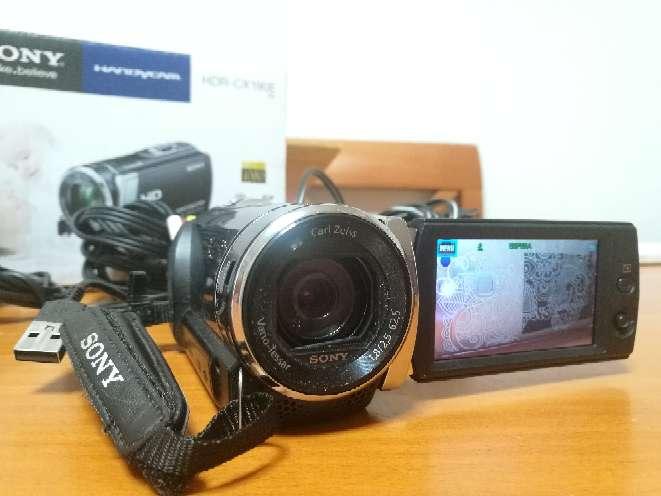 Imagen producto Videocámara Sony Handycam HRD CX190E 4