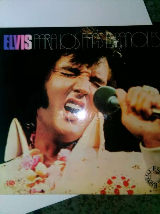 Imagen Disco vinilo Elvis preysle