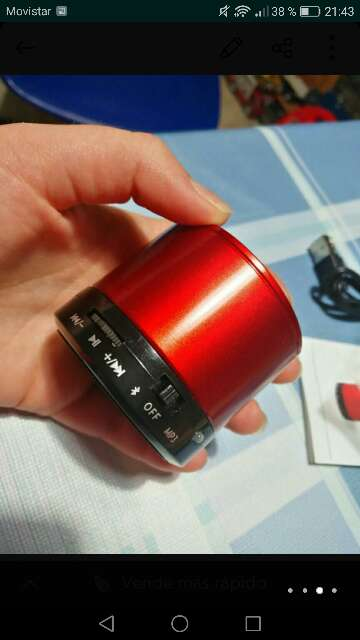 Imagen producto Altavoz Bluetooth 2