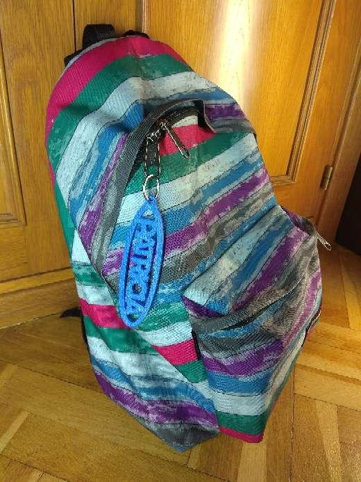 Imagen producto Llavero personalizable de mochila con tu nombre 3