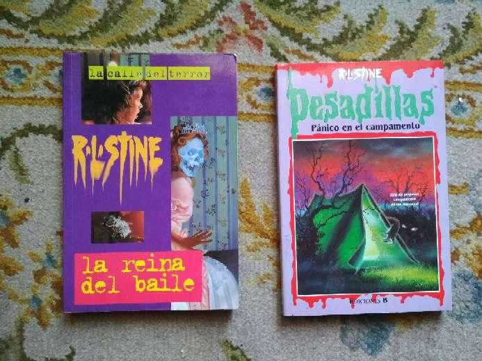 Imagen libros de pesadillas a 2 € la unidad