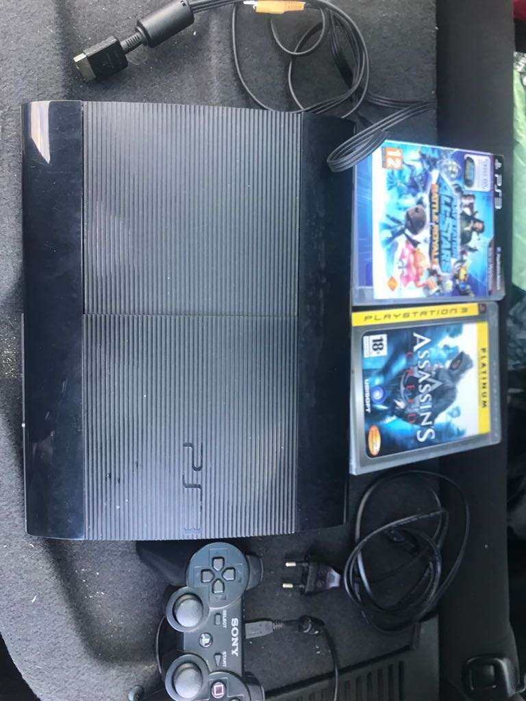 Imagen PS3 super slim 500gb