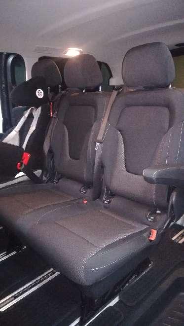 Imagen Banqueta de asientos mercedes v220d