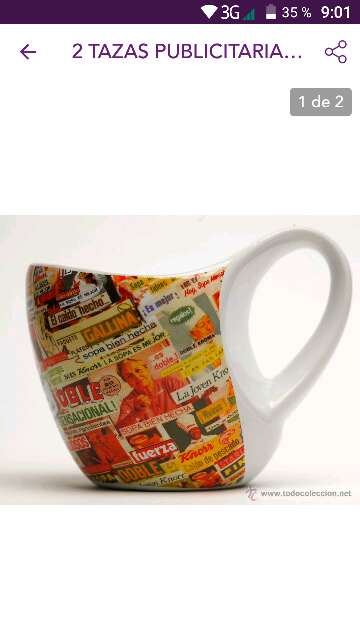 Imagen producto Taza vintage knorr 1