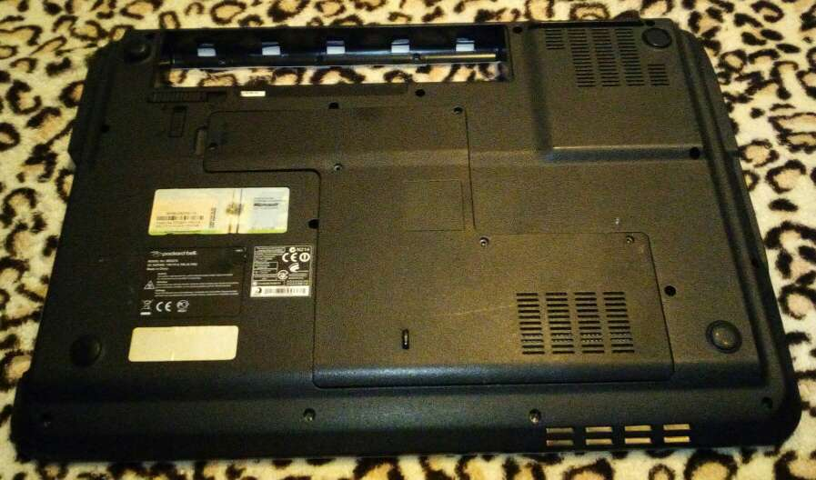 Imagen producto Carcasas packard bell tj62 3