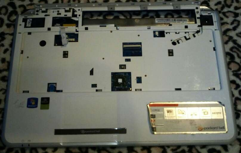 Imagen producto Carcasas packard bell tj62 2
