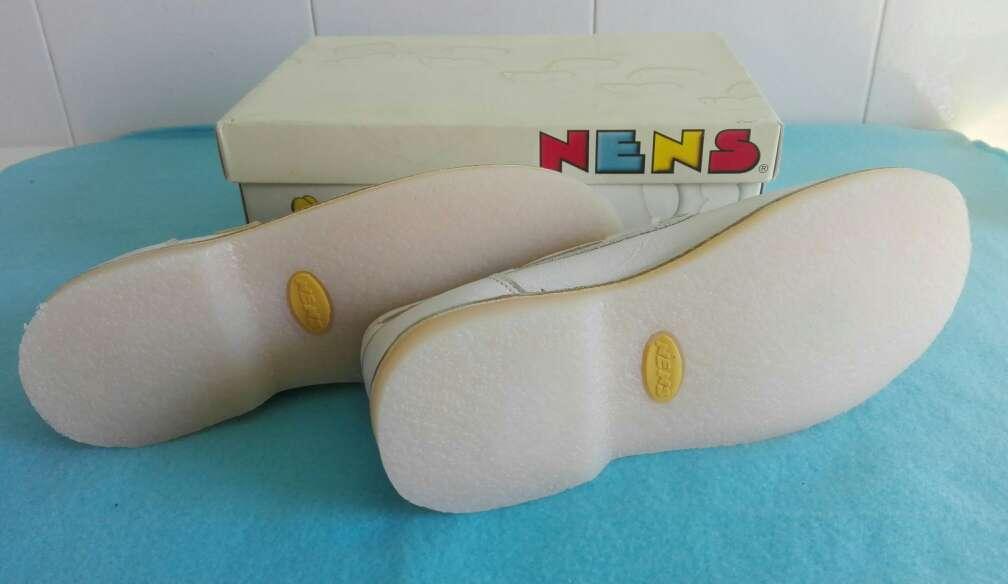 Imagen producto Zapatos niños piel comunión.Talla 35 2