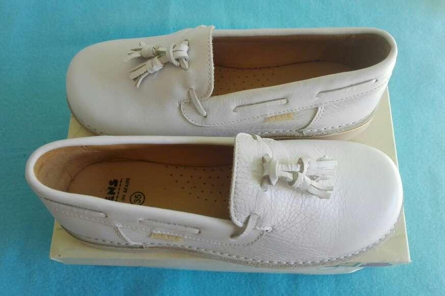 Imagen producto Zapatos niños piel comunión.Talla 35 3