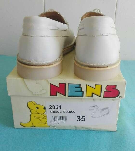 Imagen producto Zapatos niños piel comunión.Talla 35 4