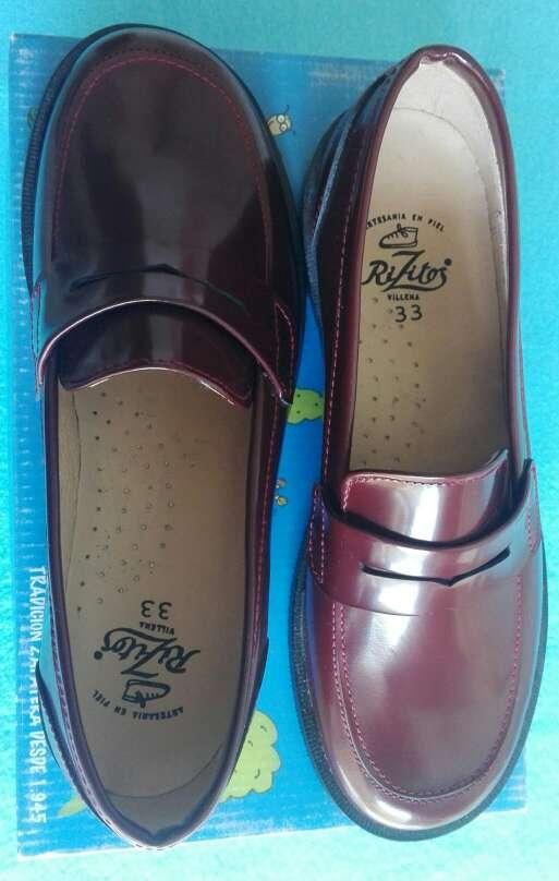 Imagen Zapatos castellanos niño .Talla 33 -Talla 34
