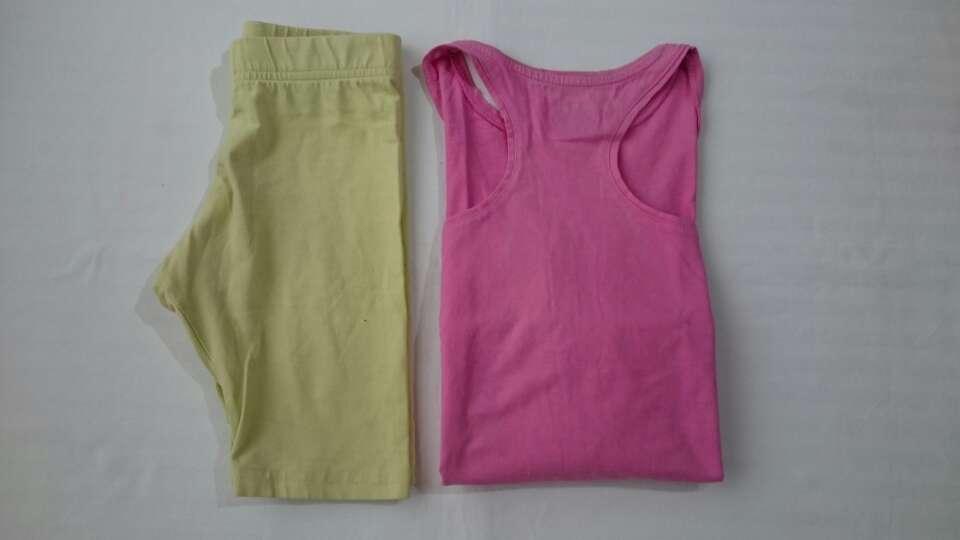 Imagen producto Short mallas + top niña  2