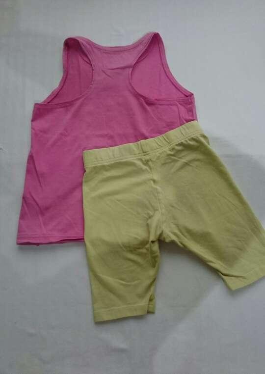 Imagen producto Short mallas + top niña  3