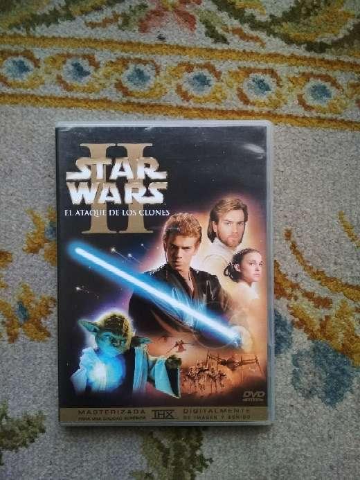 Imagen Película en 2 DVDs Star Wars el ataque de los clones