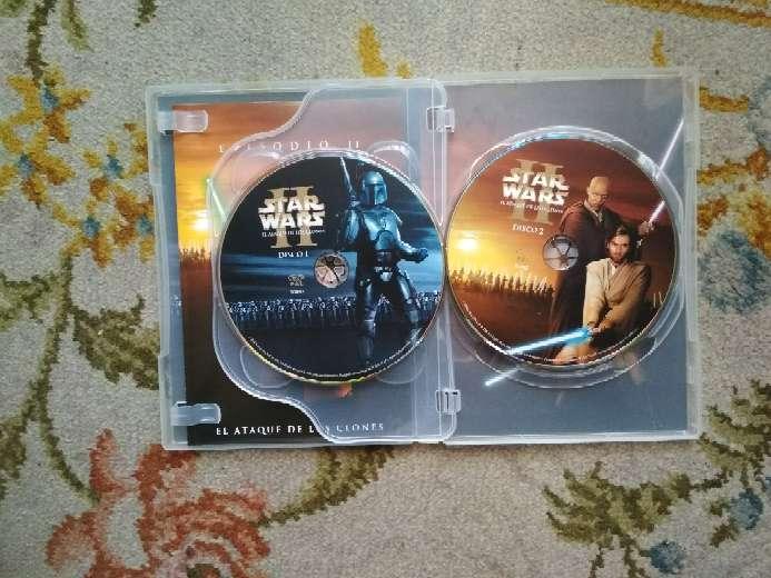 Imagen producto Película en 2 DVDs Star Wars el ataque de los clones 2
