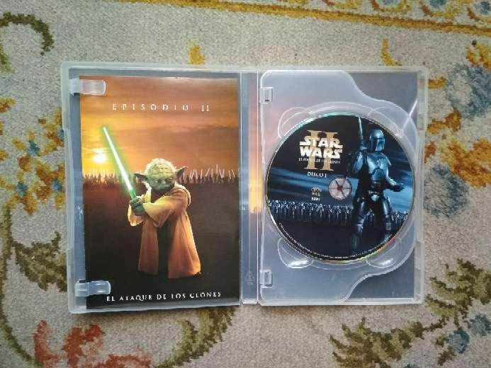 Imagen producto Película en 2 DVDs Star Wars el ataque de los clones 3