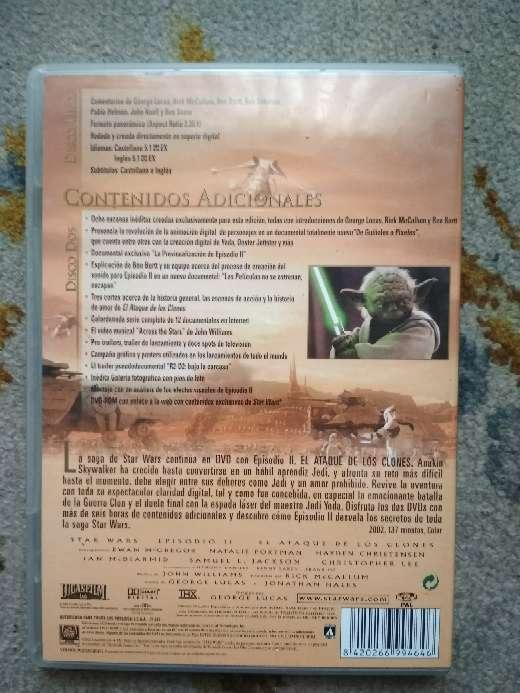 Imagen producto Película en 2 DVDs Star Wars el ataque de los clones 5