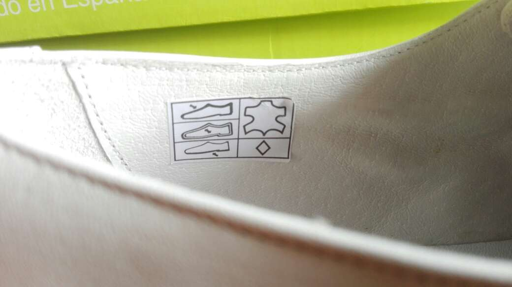 Imagen producto Zapatos niños comunión piel. Talla 35-36-37-38 Azul ,beige y blanco . 6