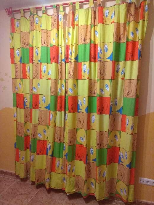 Imagen producto 2 cortinas infantiles Piolin 4