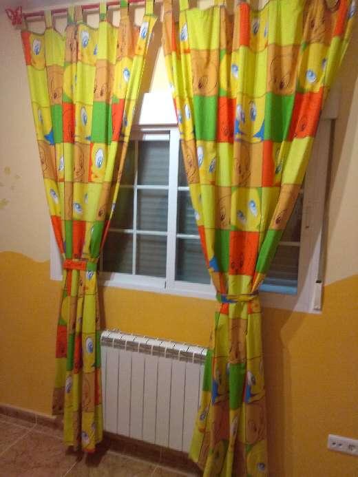 Imagen producto 2 cortinas infantiles Piolin 2