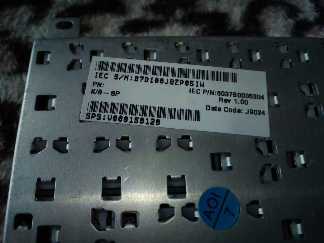 Imagen producto Teclado Notebook Toshiba ( Recambios ) 3