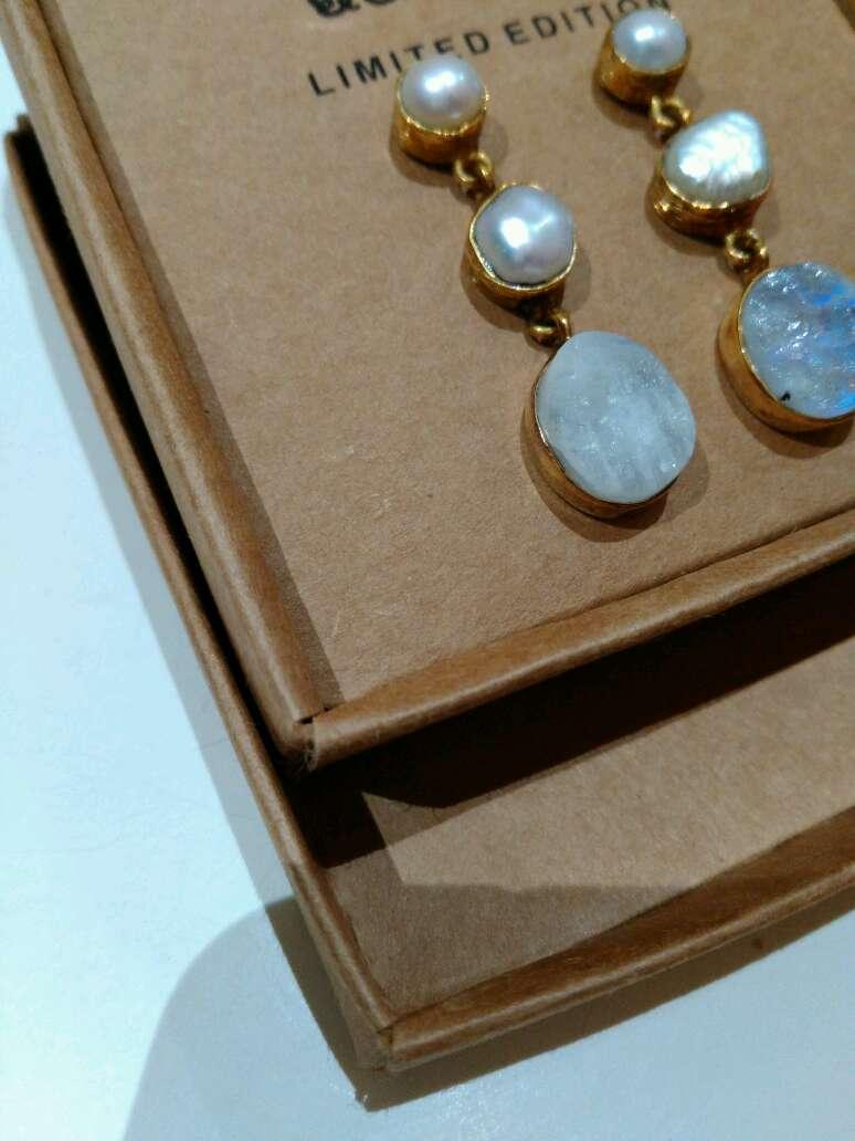 Imagen producto Pendientes perlas 3