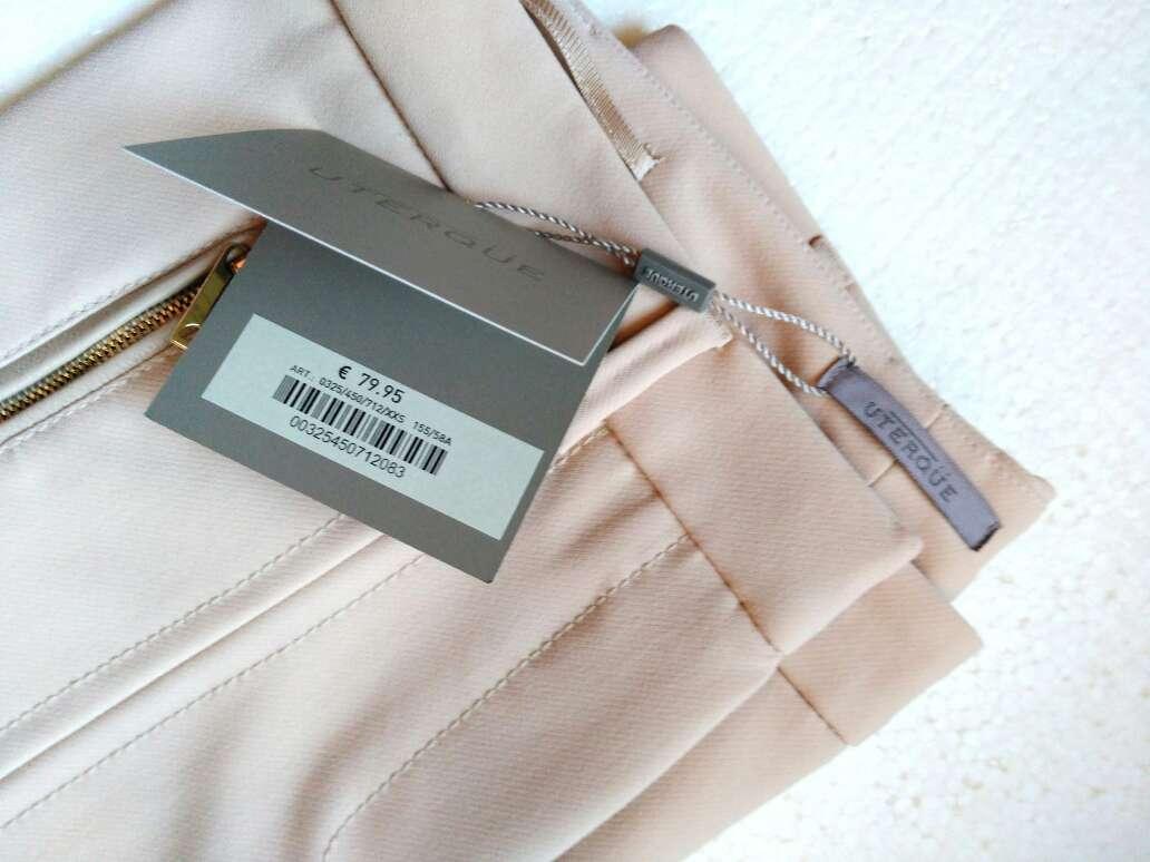 Imagen producto Pantalón cintura alta de Uterque T.XXS 2