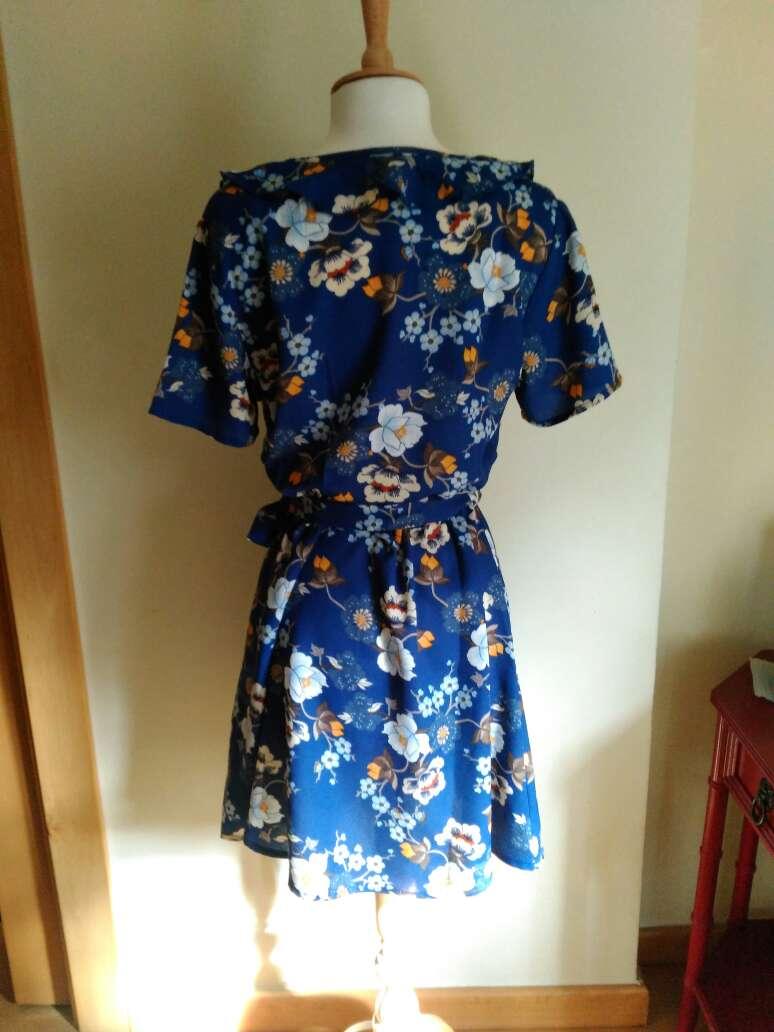 Imagen producto Vestido flores T.34 5