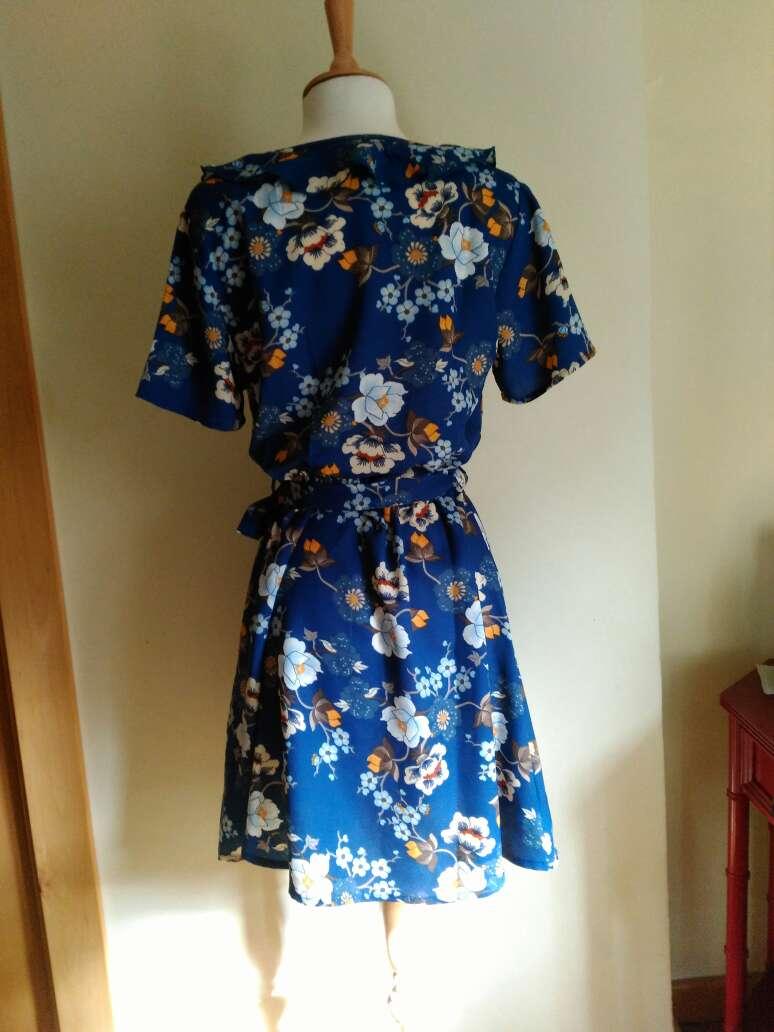 Imagen producto Vestido flores T.34 3