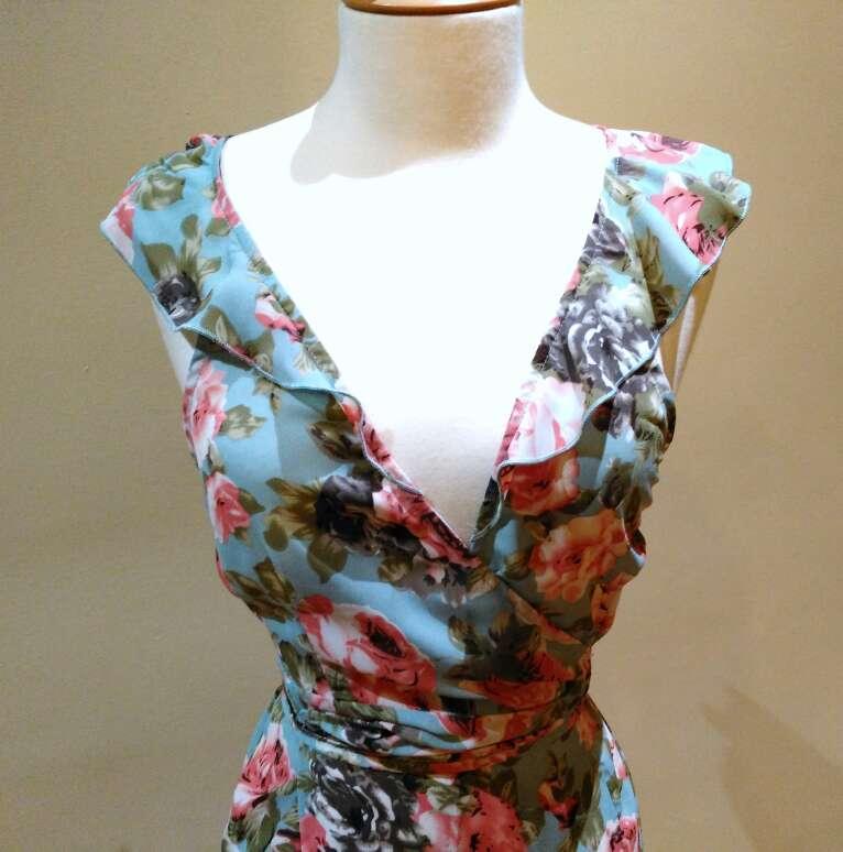 Imagen producto Vestido espalda cruzada T.S 5