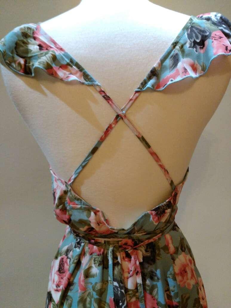 Imagen producto Vestido espalda cruzada T.S 6