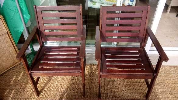 Imagen producto Conjunto de banco dos sillones y mesa de terraza.  3