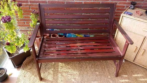 Imagen producto Conjunto de banco dos sillones y mesa de terraza.  2