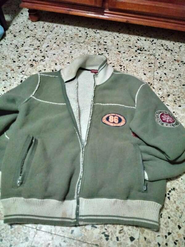 Imagen chaqueta talla L verde