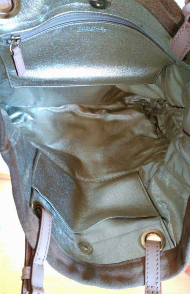 Imagen producto Bolso de ante beige de Michael Kors 3