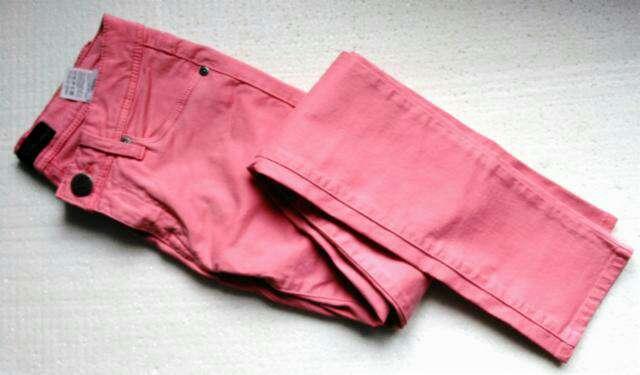 Imagen producto Vaquero skinny rosa T.24 1